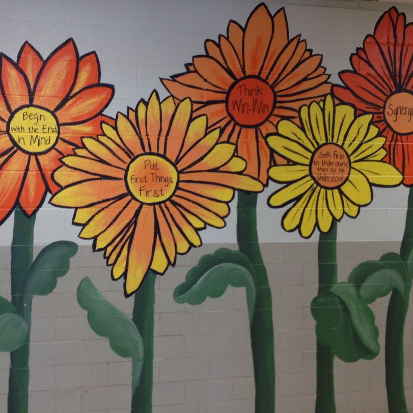 Image of Leader in Me Flowers at Heritage