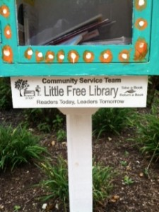 Community Service Team's Little Free Library