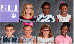 Pickerington Elementary March Proud Winners student pictures