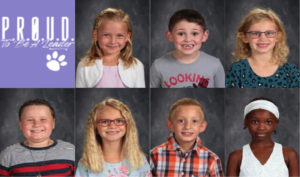 Student pictures of the October 2020 PROUD winners