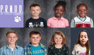 Pictures of students who won the March 2020 PROUD award