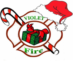 Violet holiday drive clip art