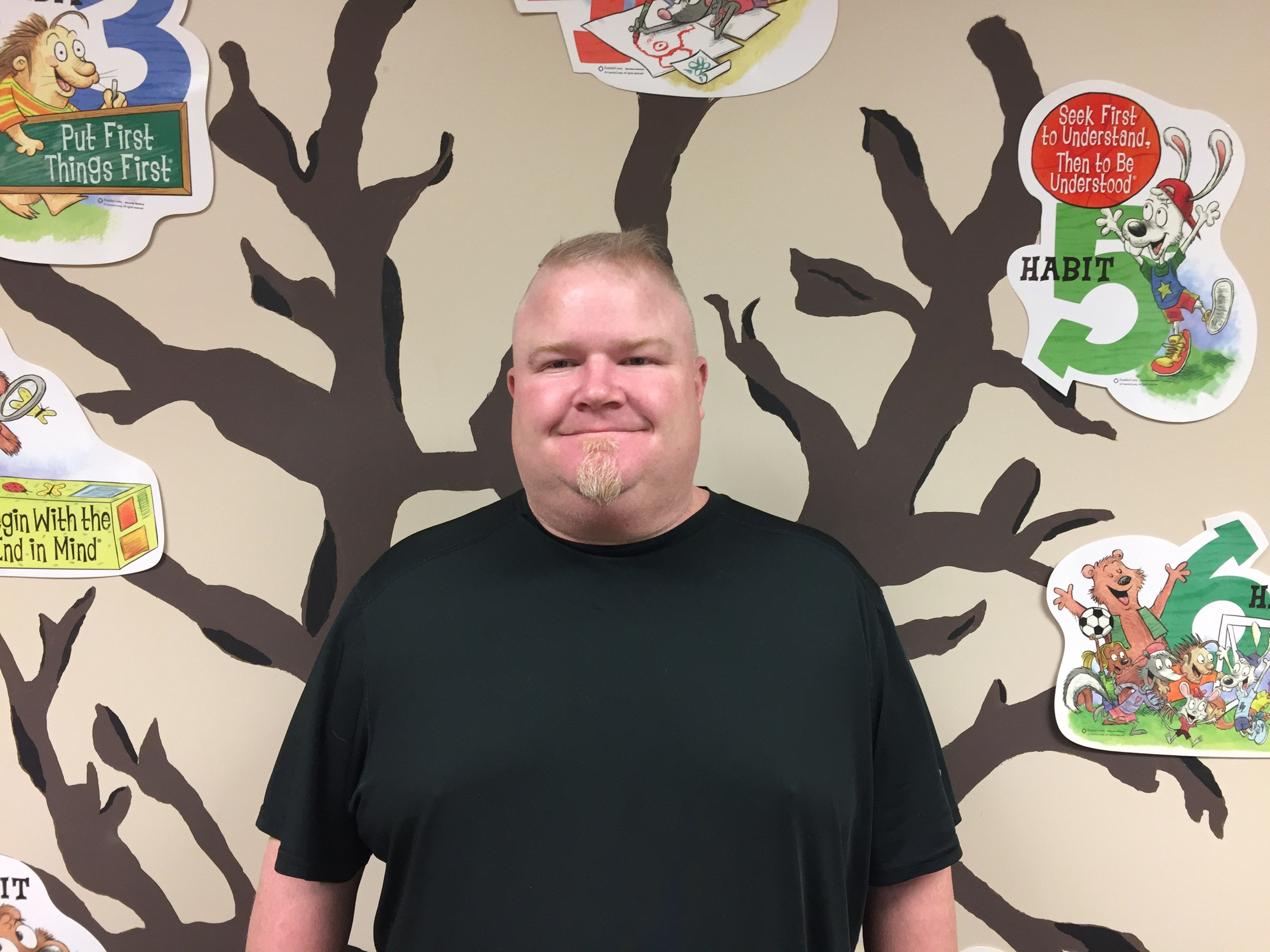 Picture of Mr. Drake, school counselor at Toll Gate Elementary