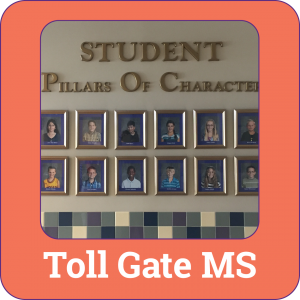 Link to Toll Gate Middle School Information