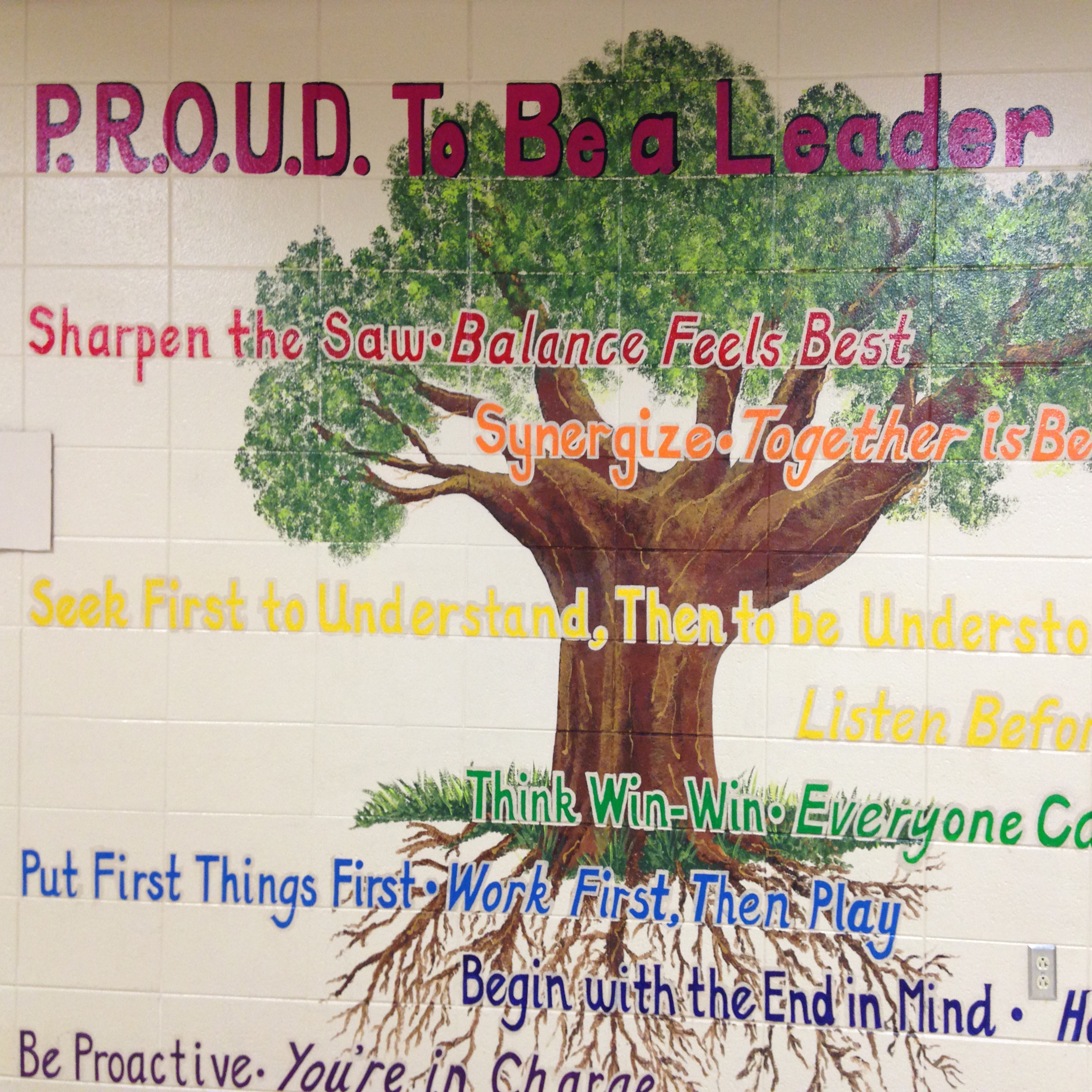 Image of PROUD Tree at Pickerington Elementary