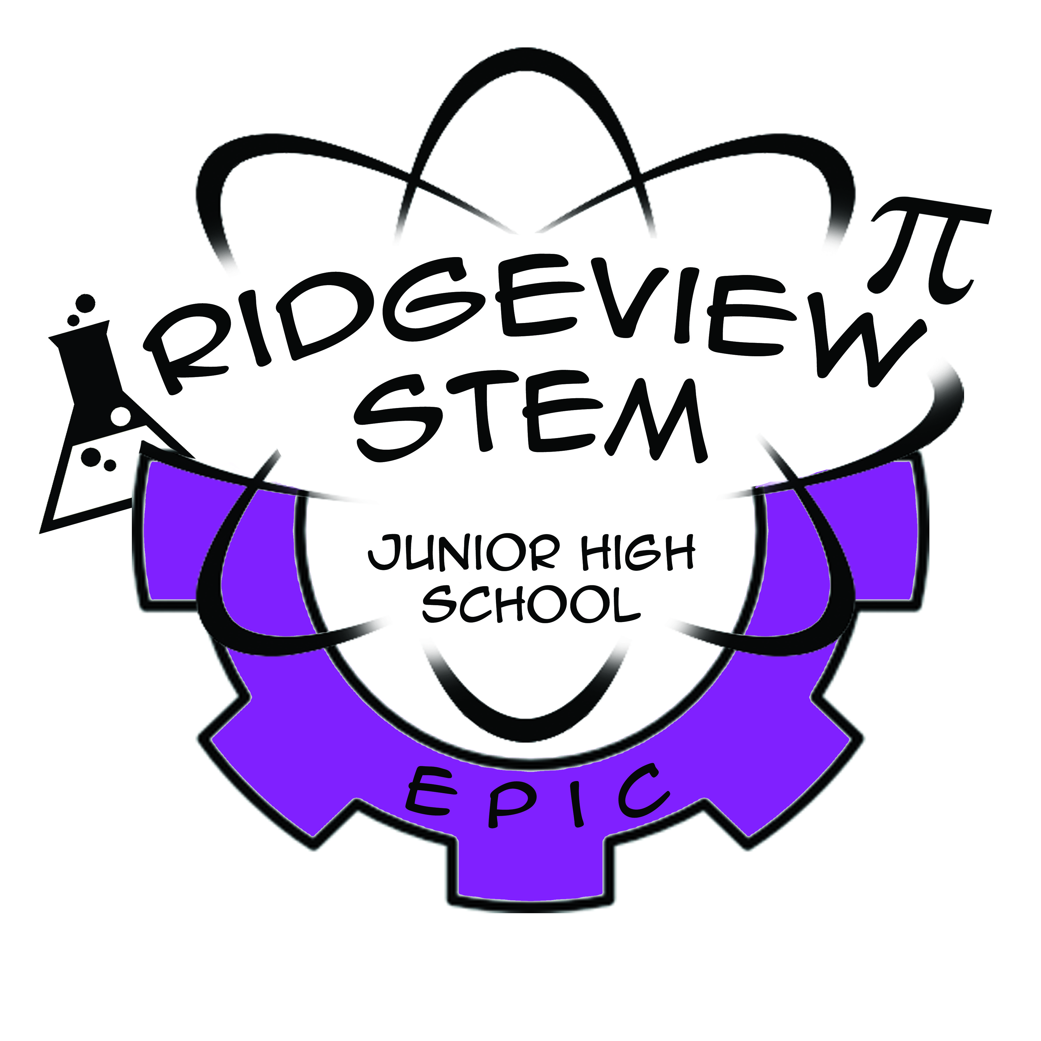 Ridgeview STEM Junior High logo