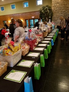 picture of silent auction gift baskets