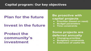 Photo linking to video about capital projects