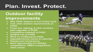 Photo linking to video about athletic facilities