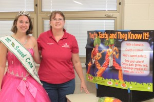 OSU Extension Rep and 2016 Millersport Sweet Corn Festival Queen