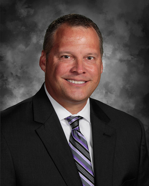 Photograph of Pickerington's new Superintendent Chris Briggs