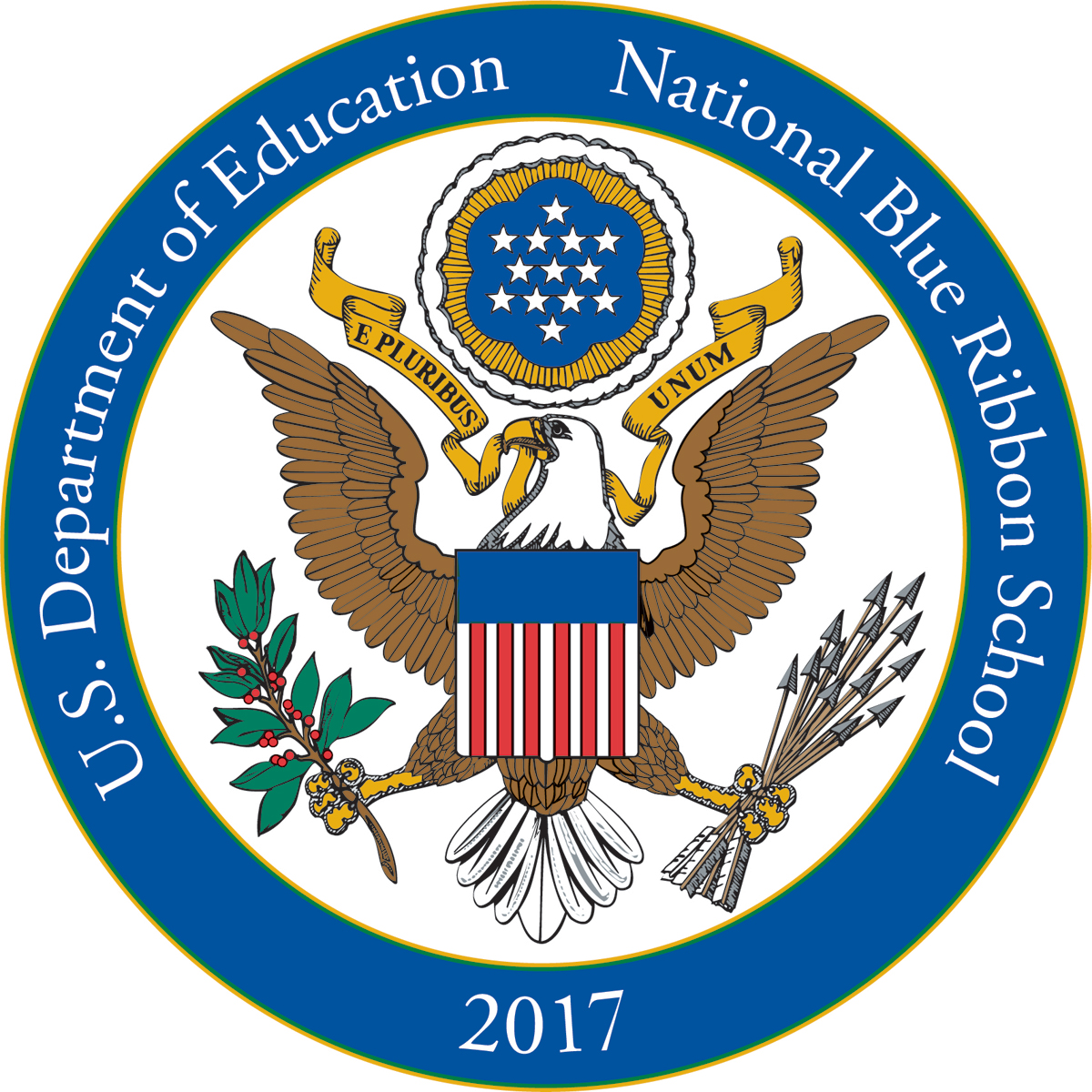 Image of National Blue Ribbon Award logo