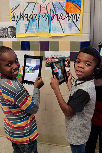 Sycamore Creek students create augmented reality museum