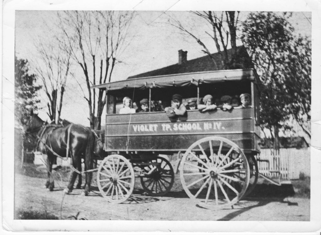 Pickerington's first school bus