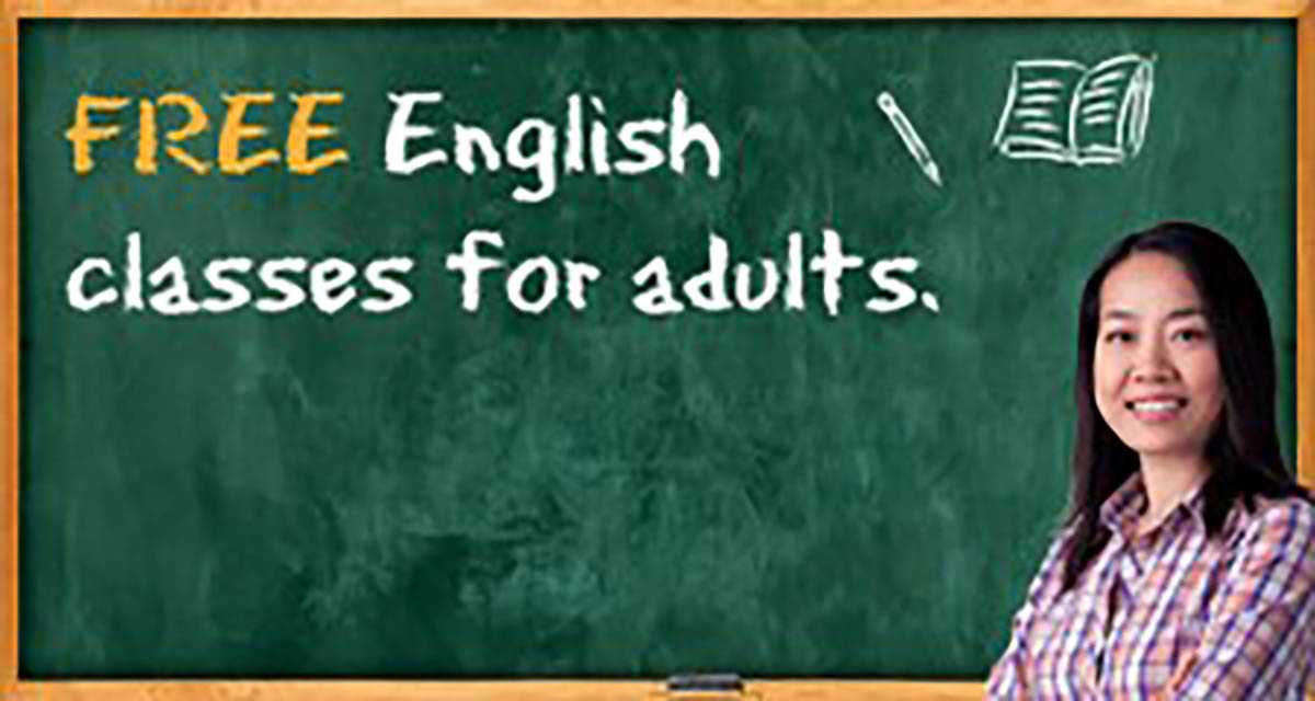 Free English Classes for Adults image