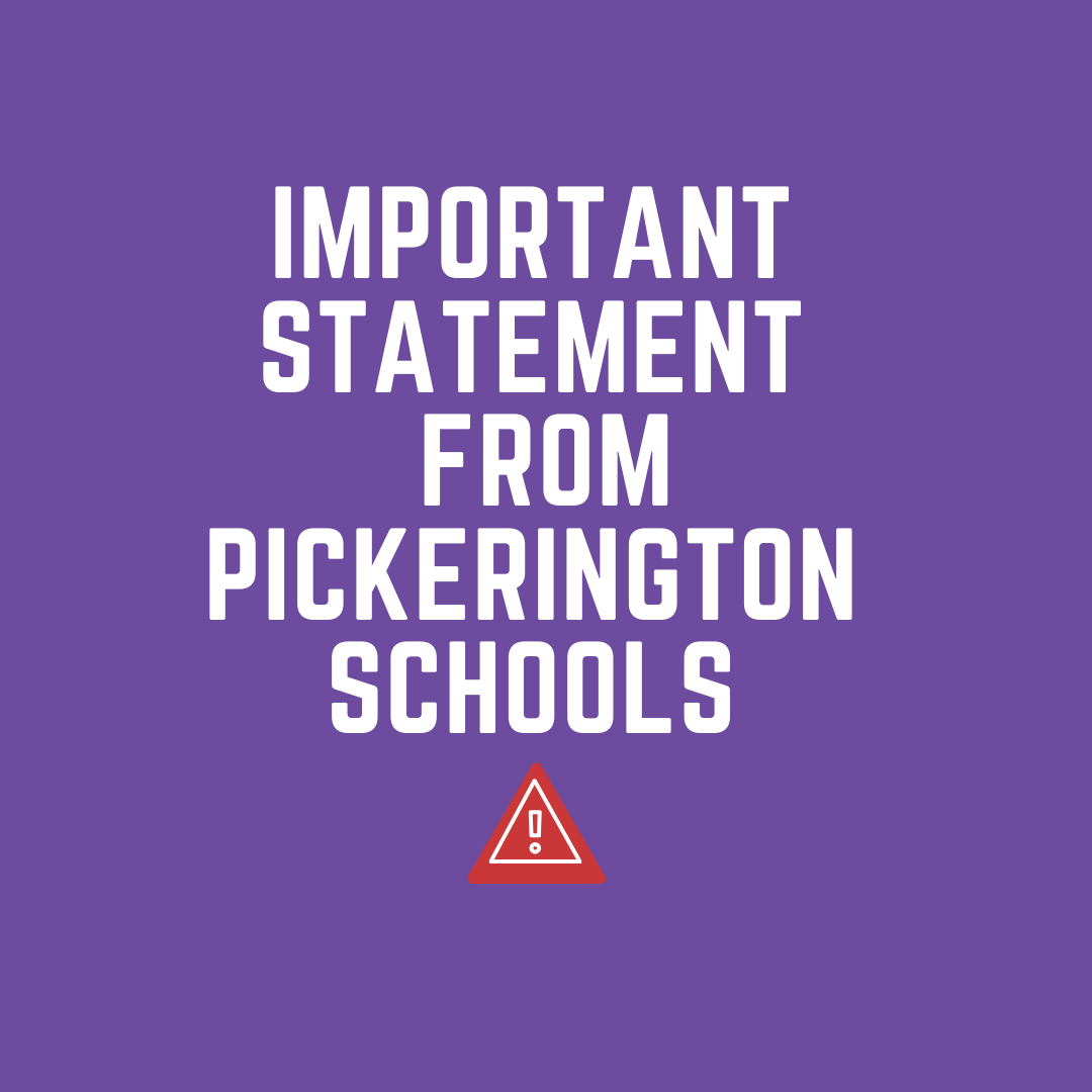 Important Statement from Pickerington Schools image