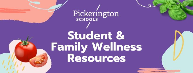 Student and Family Wellness Resources Banner