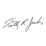 Image of Timothy R. Jenkins signature
