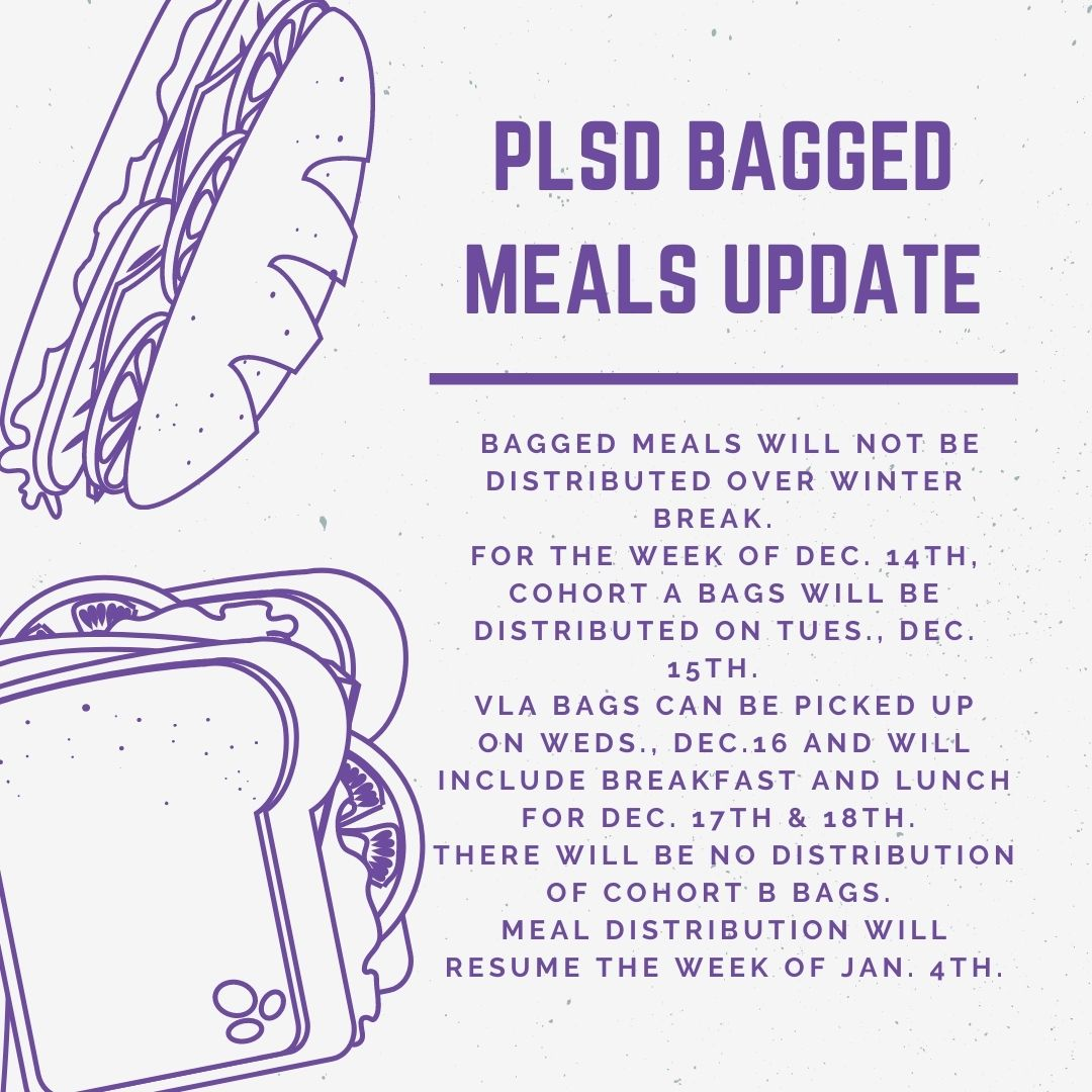 Bagged Meals Update image