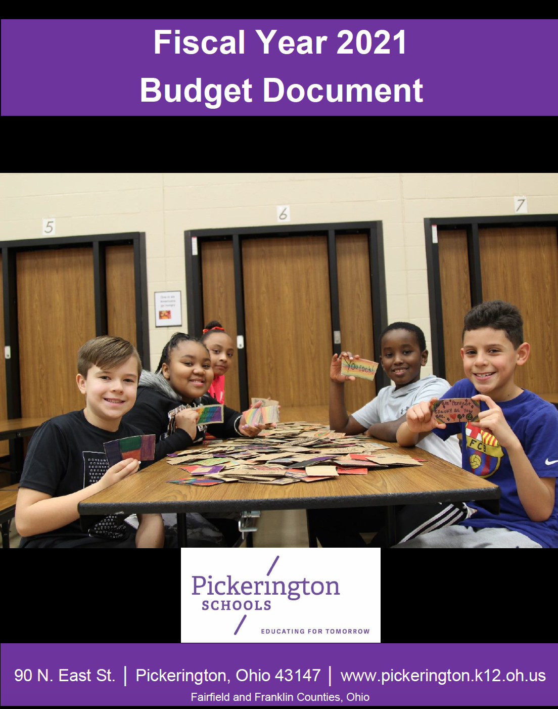 Budgetary PAFR Cover image