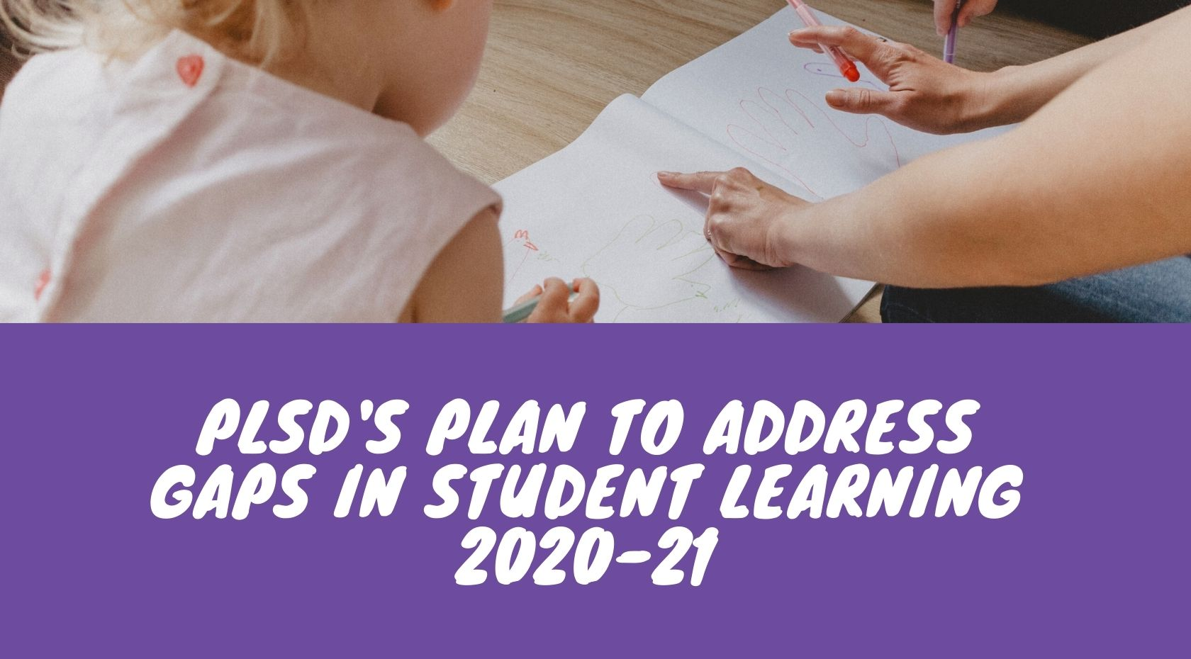 Plan to Address Student Learning Gaps image