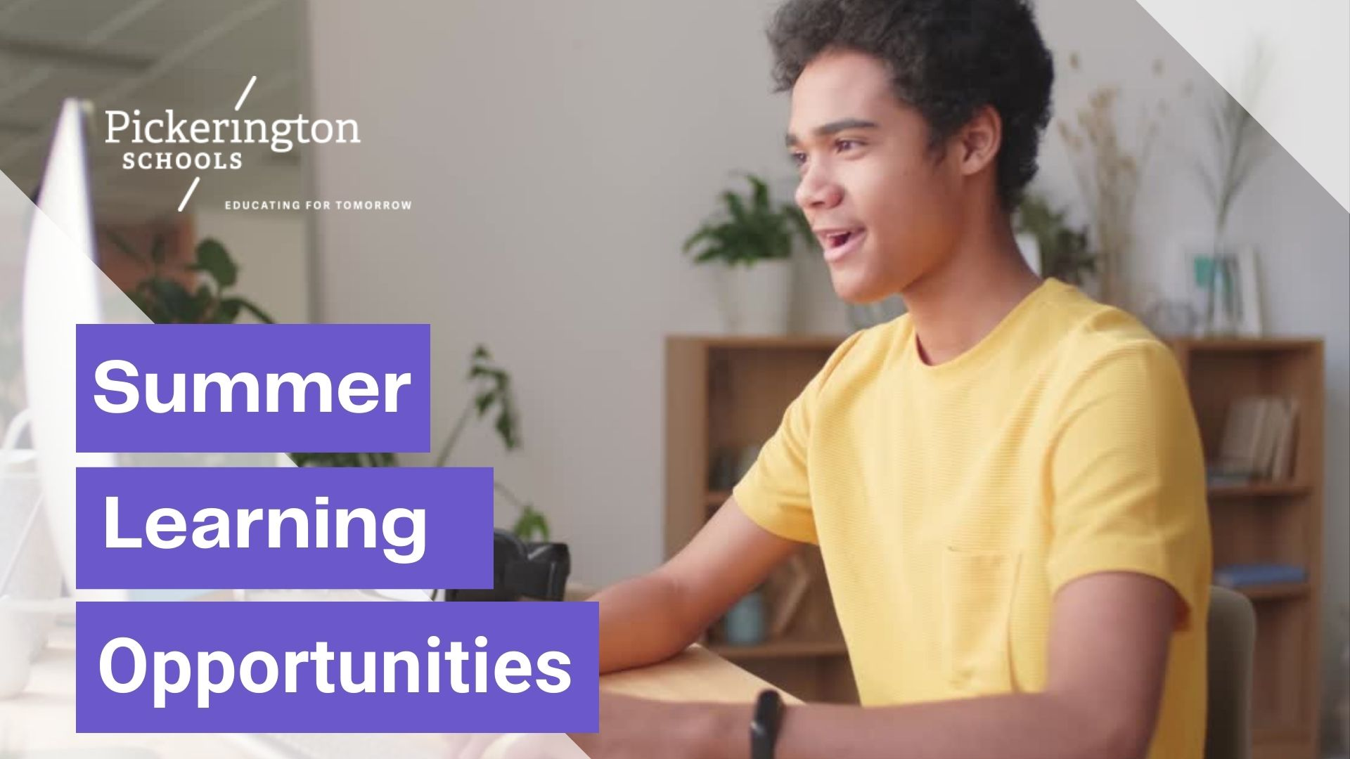 Summer Learning Opportunities image